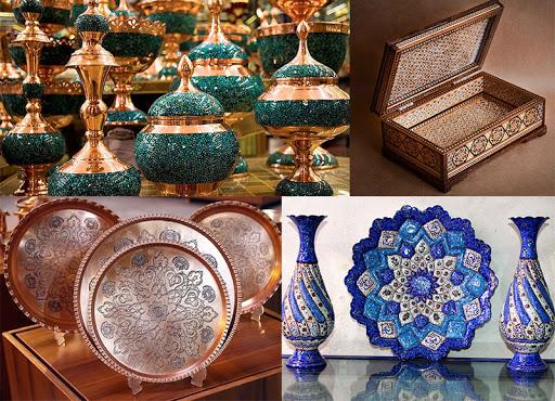 صنايع دستي شهر اصفهان